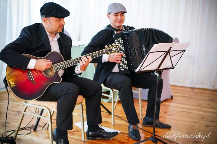duet francuski muzyka na imprezę